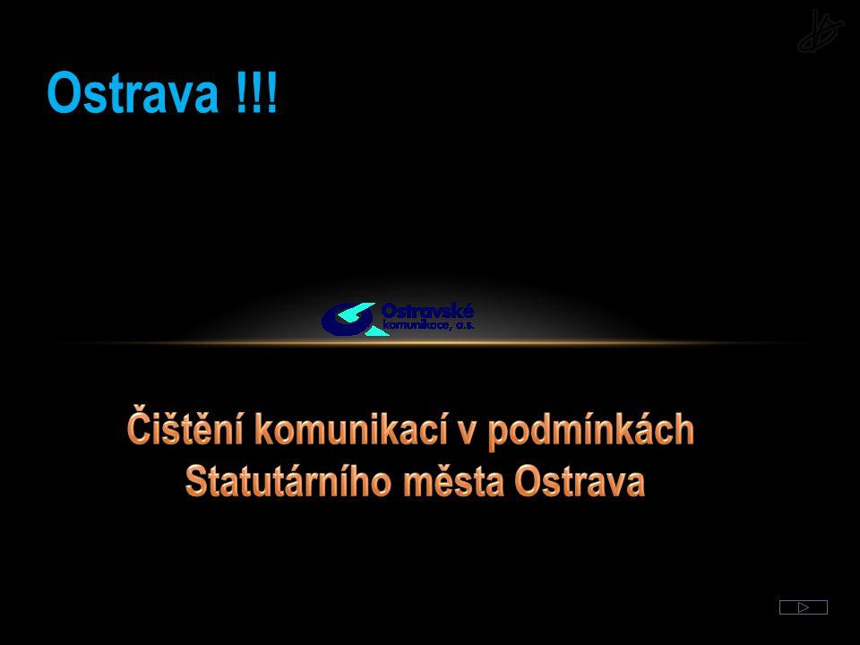 Čištění komunikací v podmínkách Statutárního města Ostrava