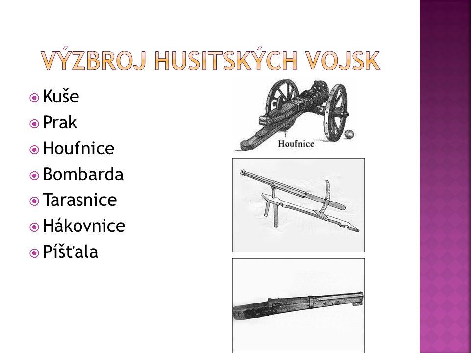 Výzbroj husitských vojsk