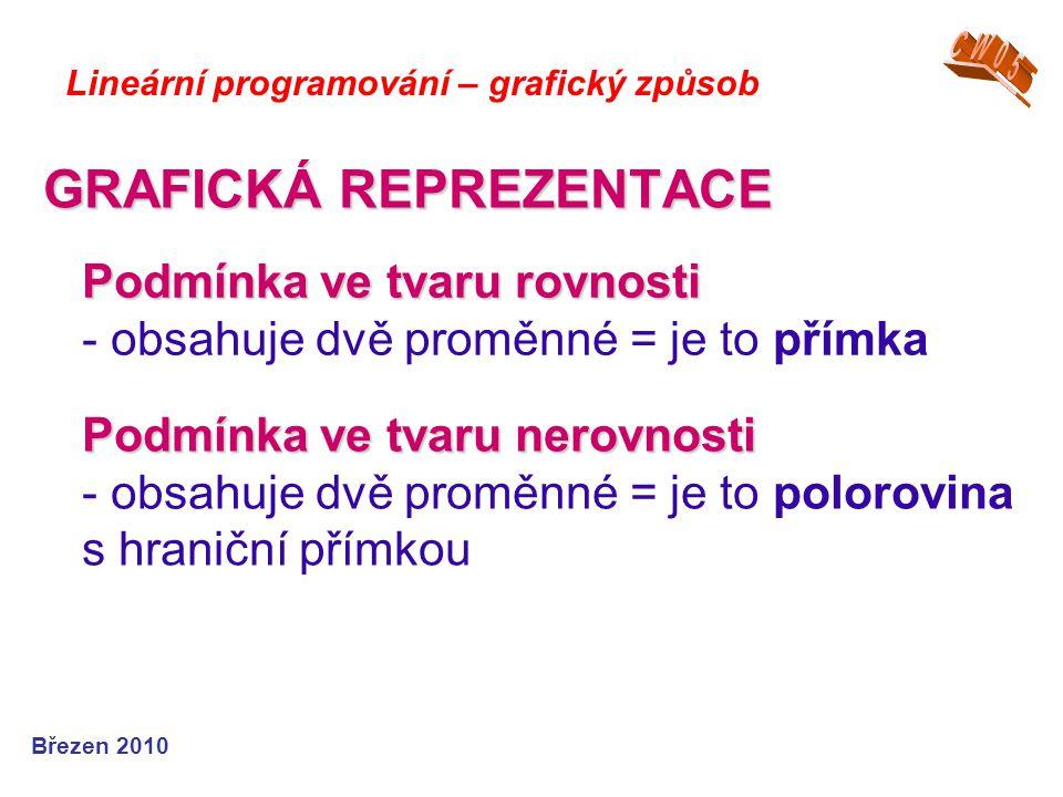 GRAFICKÁ REPREZENTACE