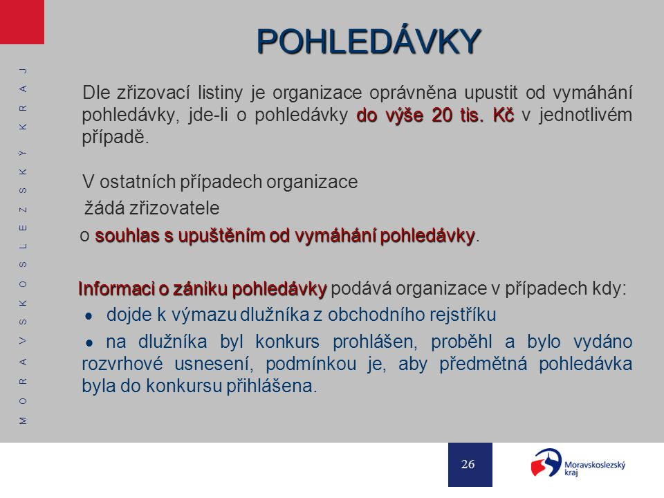 POHLEDÁVKY
