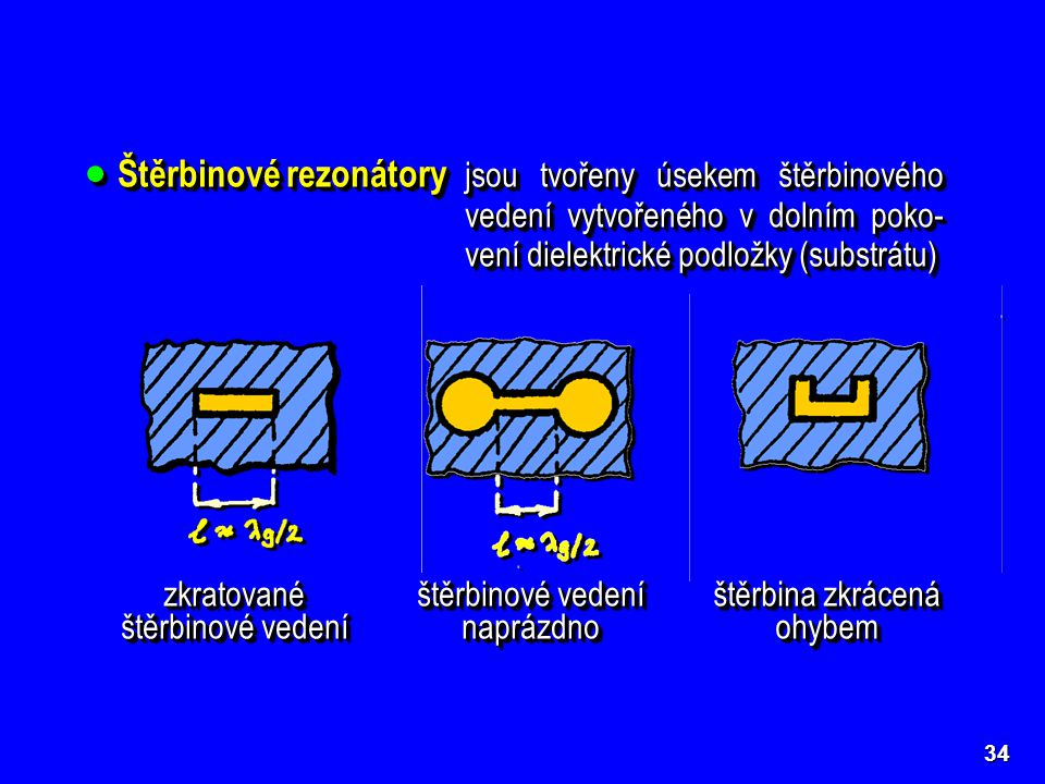 Štěrbinové rezonátory