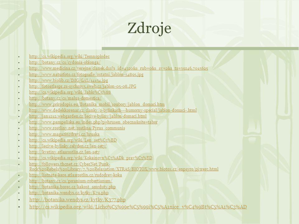 Zdroje http://botanika.wendys.cz/kytky/K377.php