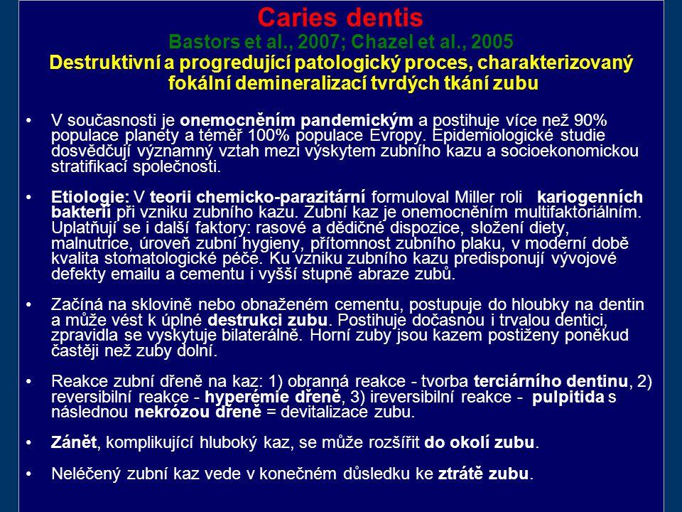 Bastors et al., 2007; Chazel et al., 2005