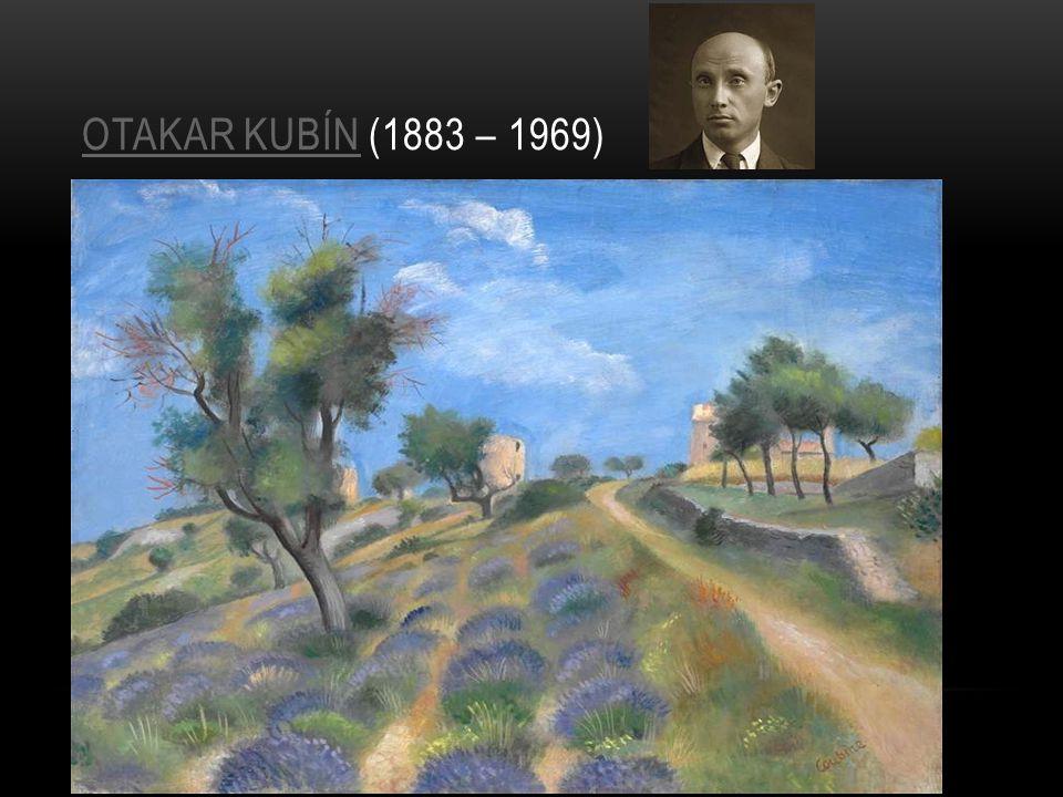 Otakar Kubín (1883 – 1969)
