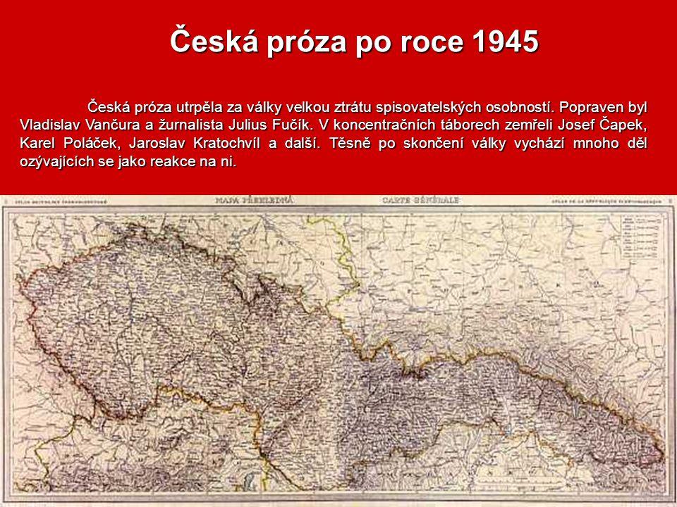 Česká próza po roce 1945