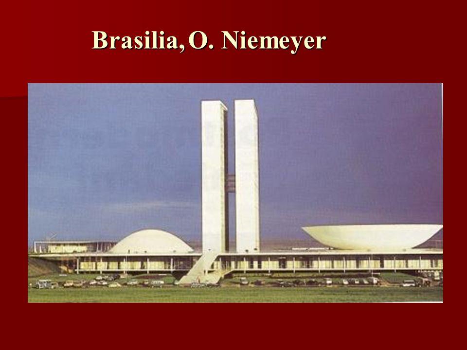 Brasilia, O. Niemeyer