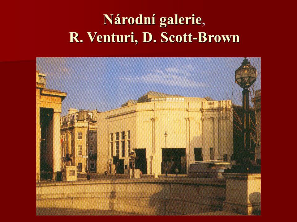 Národní galerie, R. Venturi, D. Scott-Brown