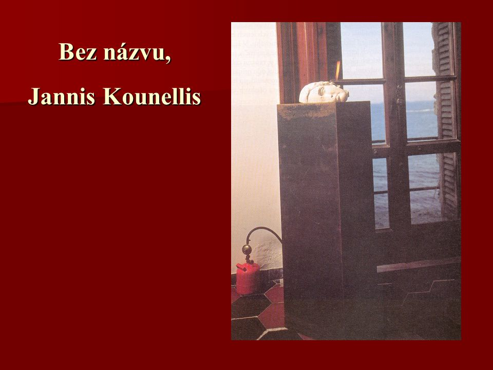 Bez názvu, Jannis Kounellis