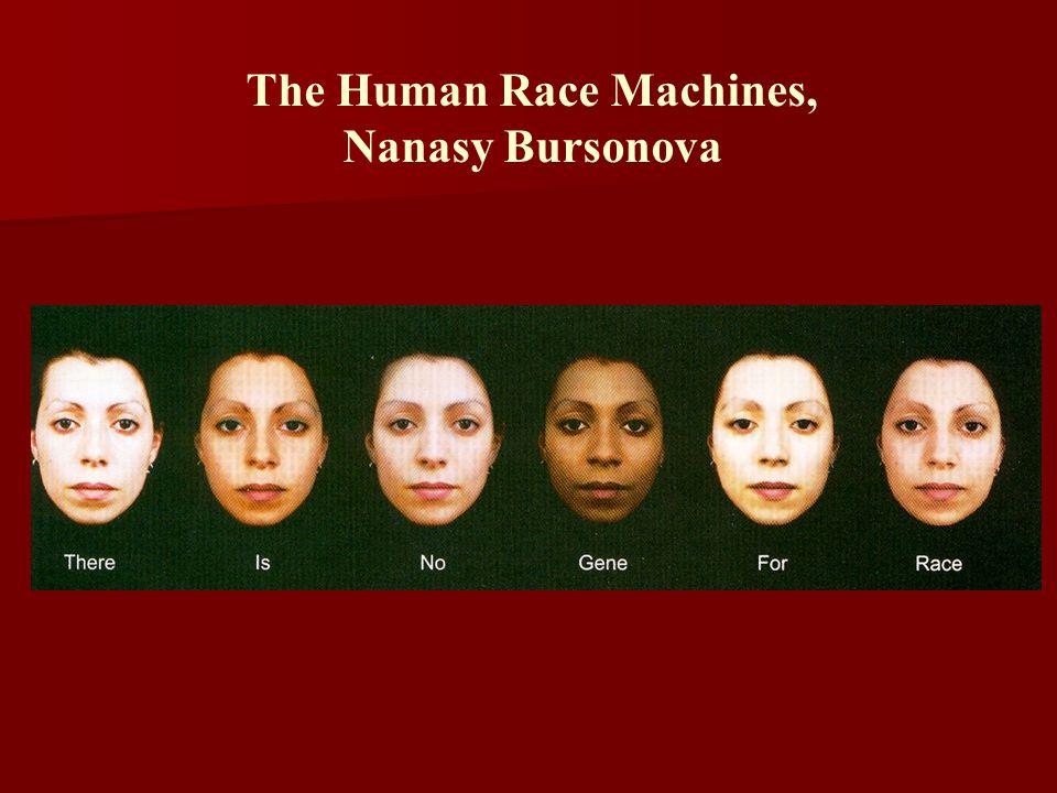 The Human Race Machines, Nanasy Bursonova