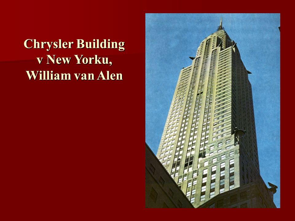 Chrysler Building v New Yorku, William van Alen