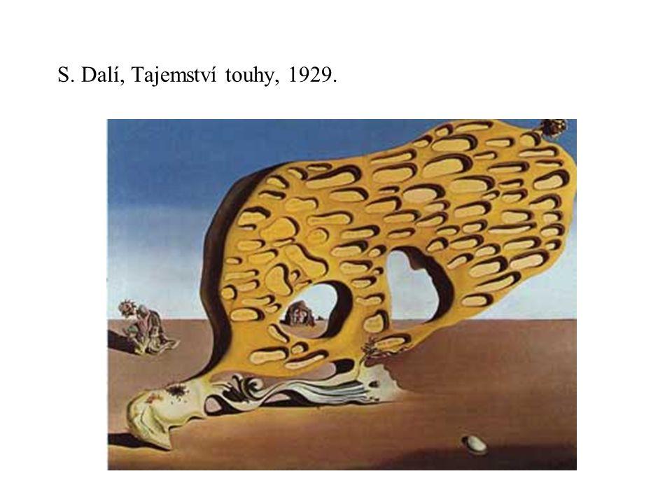 S. Dalí, Tajemství touhy, 1929.
