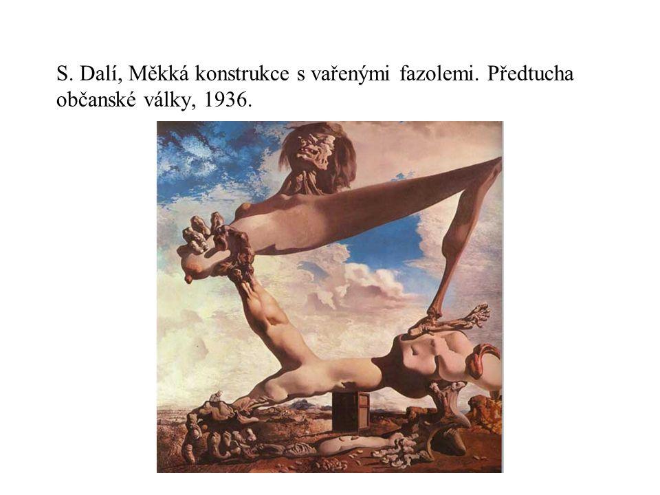 S. Dalí, Měkká konstrukce s vařenými fazolemi