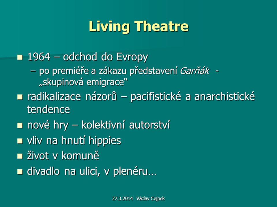 Living Theatre 1964 – odchod do Evropy