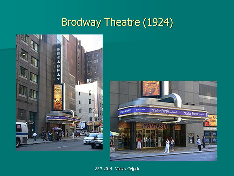 Brodway Theatre (1924) 27.3.2014 Václav Cejpek