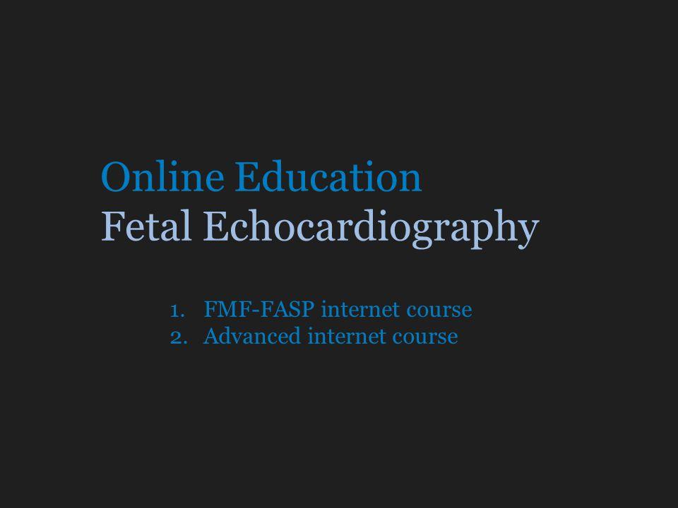 Online Education Fetal Echocardiography