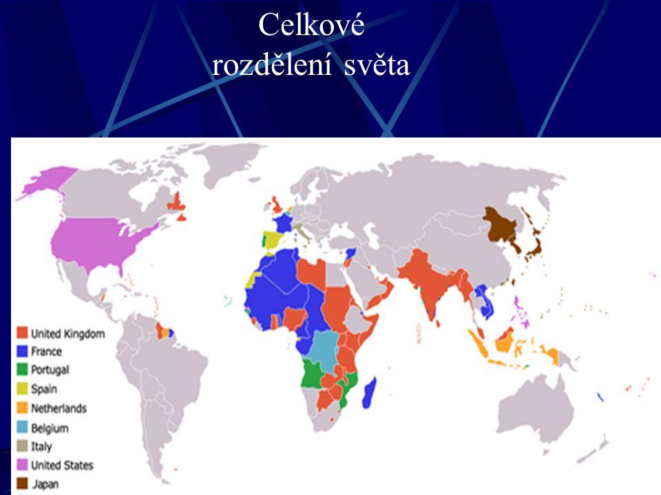 Celkové rozdělení světa