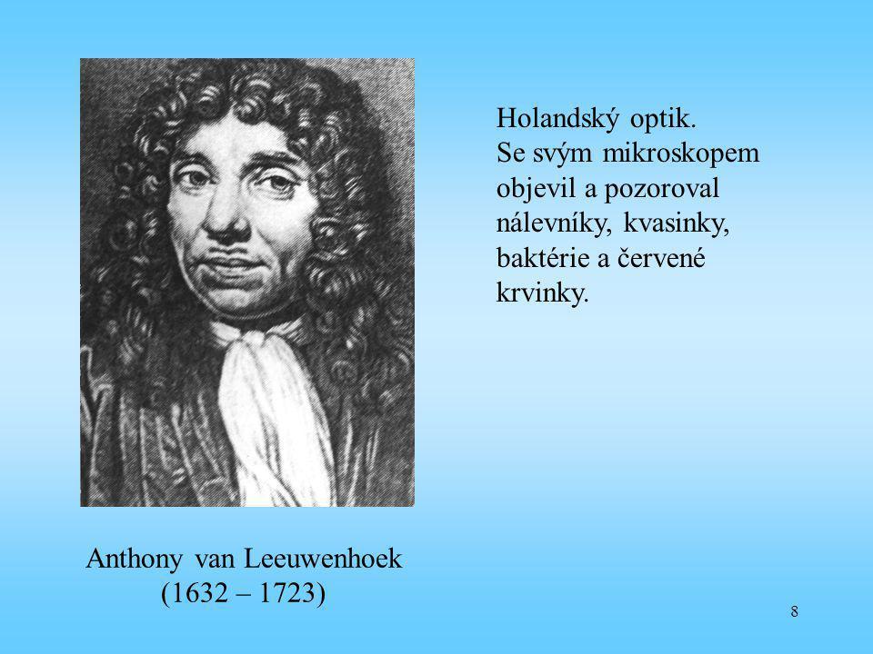 Anthony van Leeuwenhoek (1632 – 1723)
