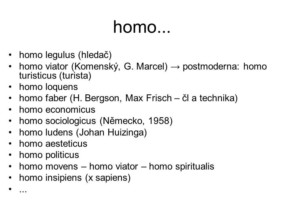 homo... homo legulus (hledač)