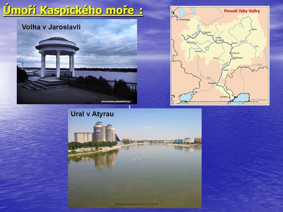 Úmoří Kaspického moře :