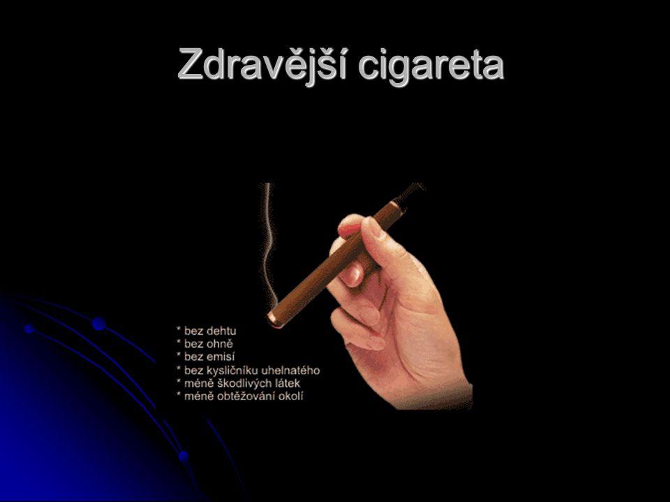 Zdravější cigareta
