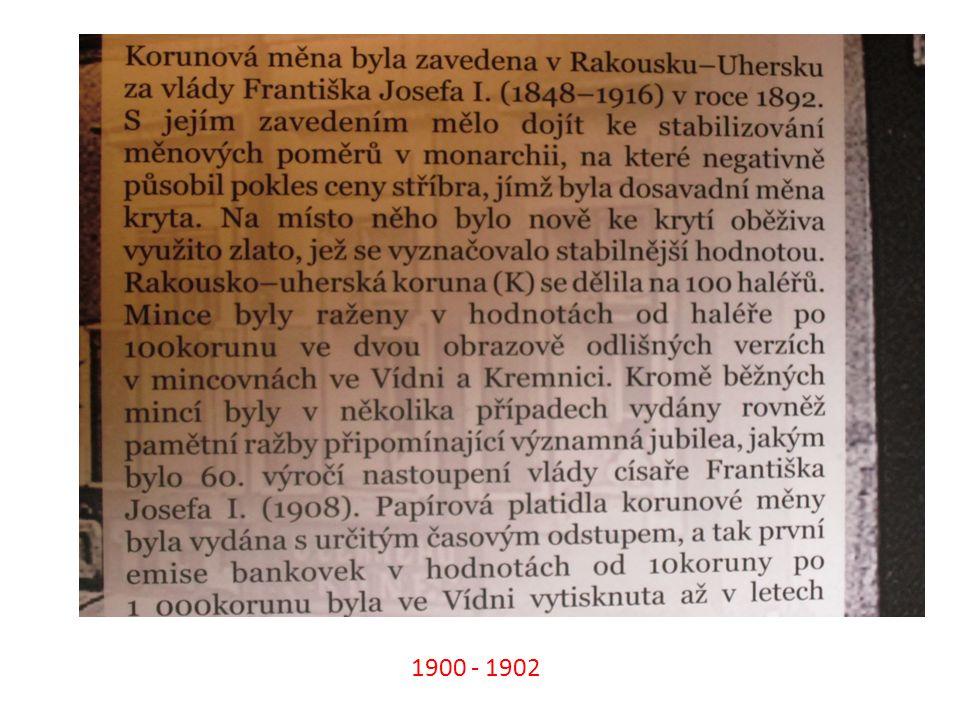 1900 - 1902