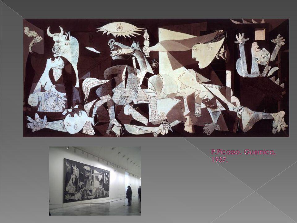 P.Picasso, Guernica, 1937.