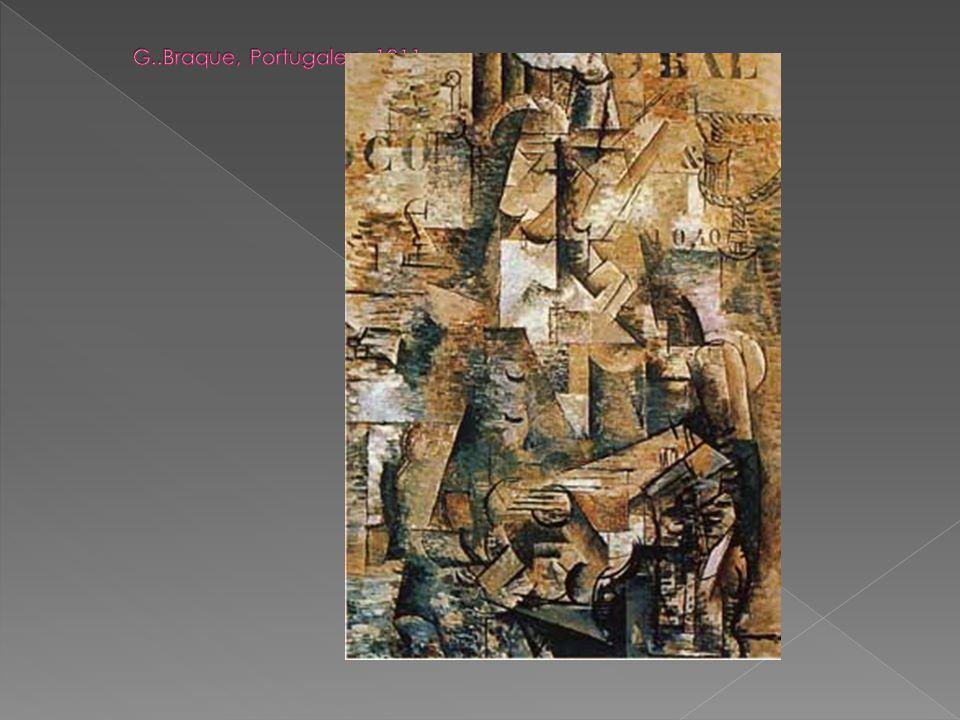 G..Braque, Portugalec, 1911.