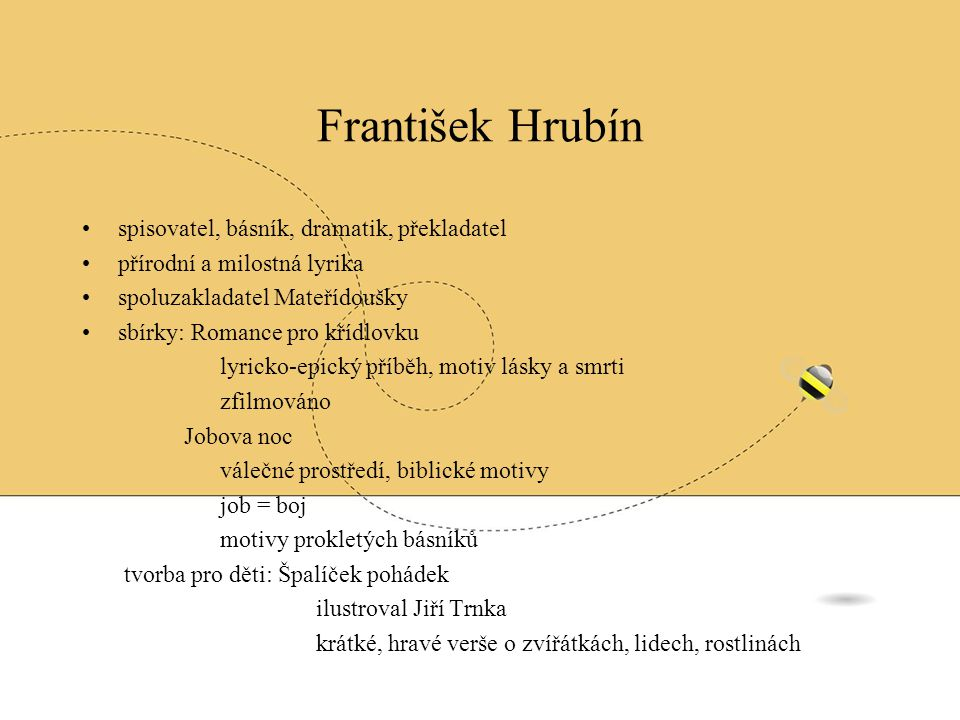František Hrubín spisovatel, básník, dramatik, překladatel