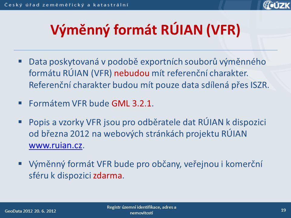 Výměnný formát RÚIAN (VFR)