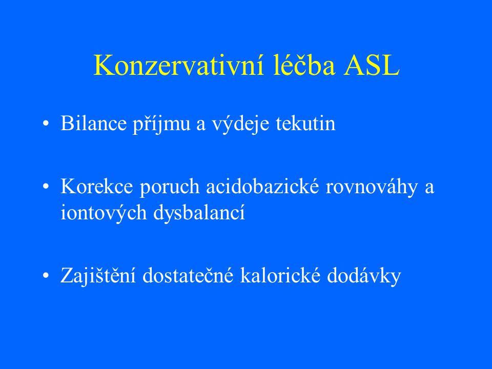 Konzervativní léčba ASL