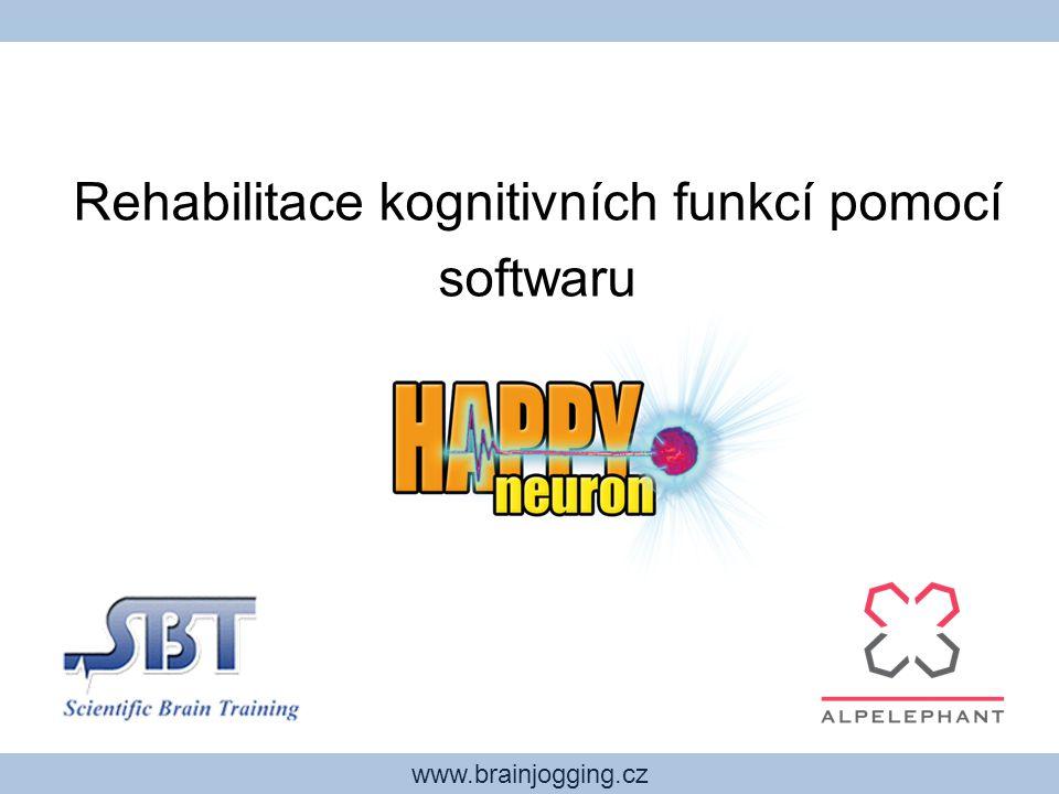 Rehabilitace kognitivních funkcí pomocí softwaru