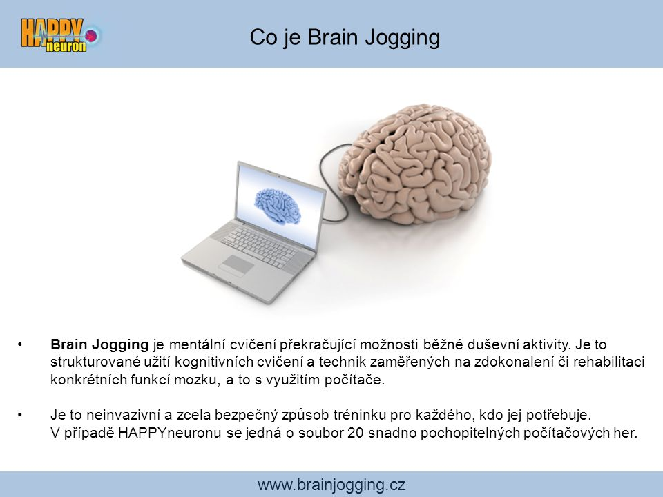 Co je Brain Jogging www.brainjogging.cz