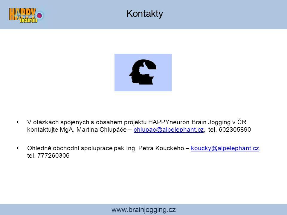 Kontakty www.brainjogging.cz