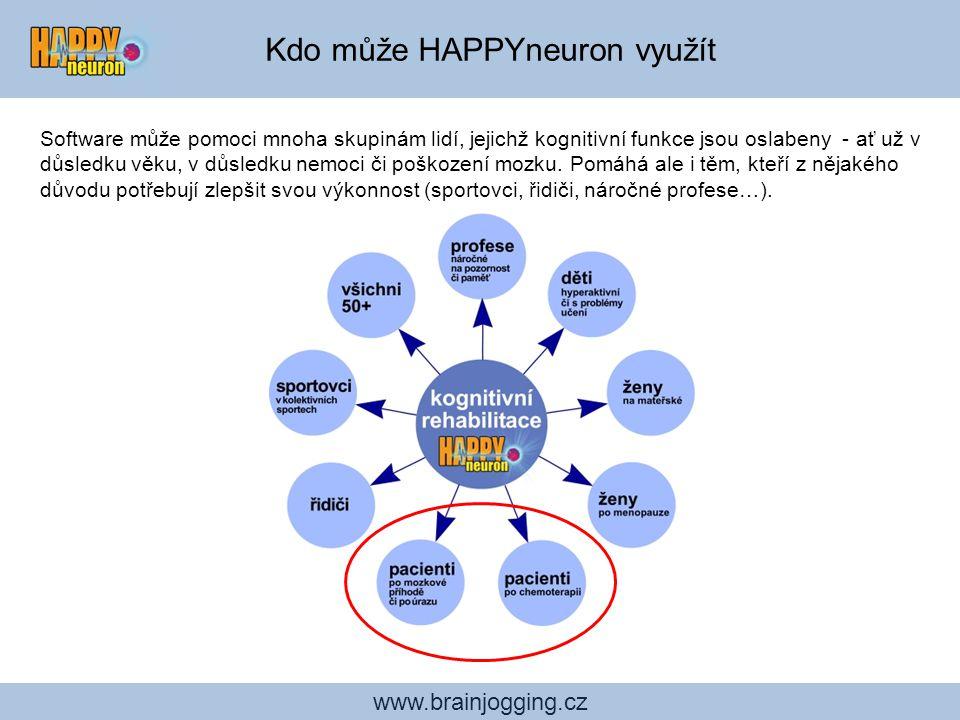 Kdo může HAPPYneuron využít