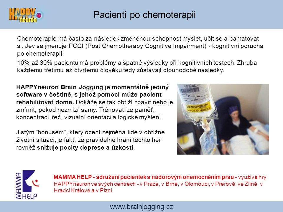 Pacienti po chemoterapii