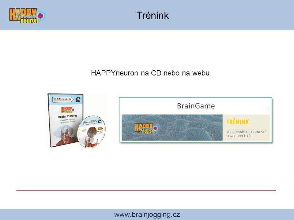 HAPPYneuron na CD nebo na webu
