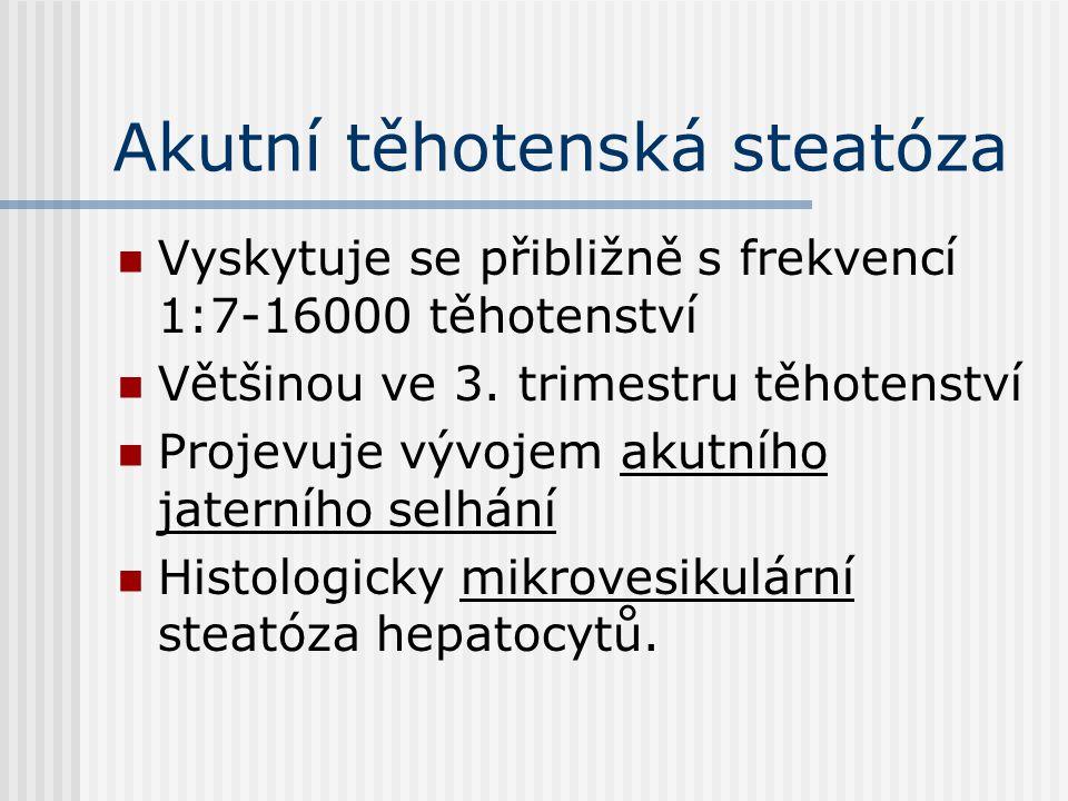Akutní těhotenská steatóza