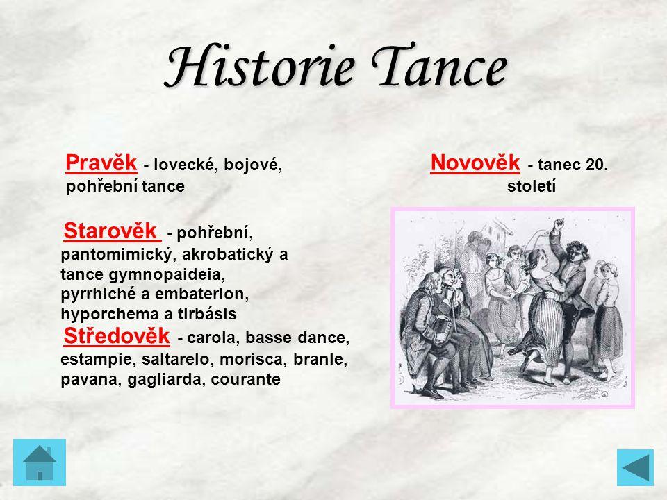 Novověk - tanec 20. století