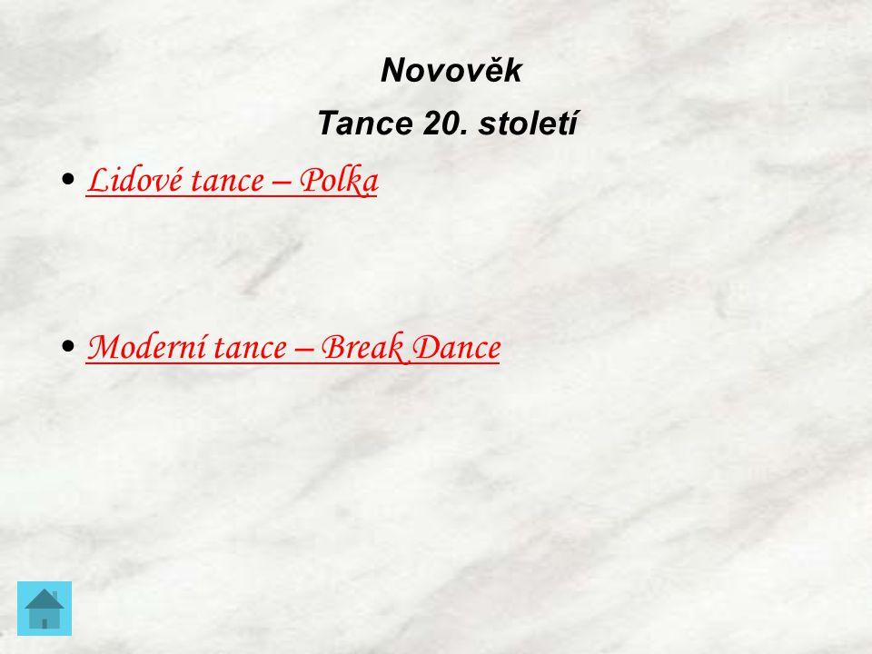 Moderní tance – Break Dance