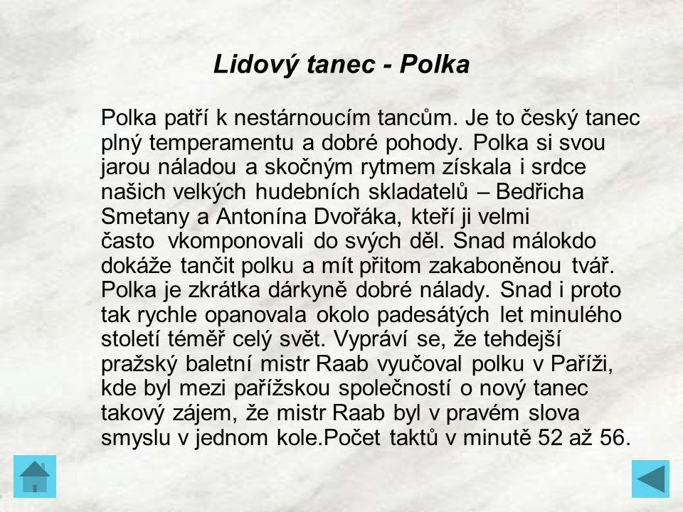 Lidový tanec - Polka