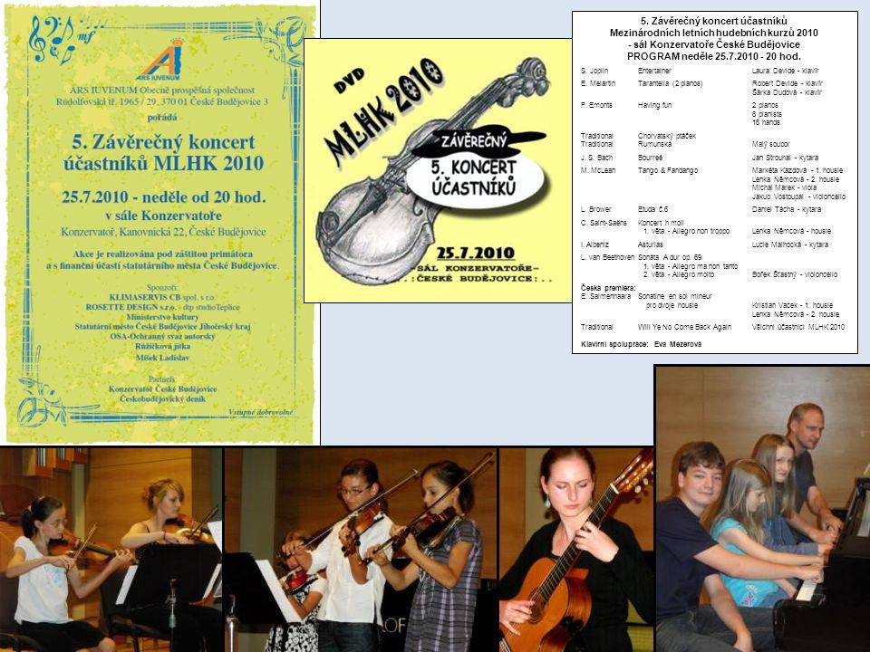 5. Závěrečný koncert účastníků