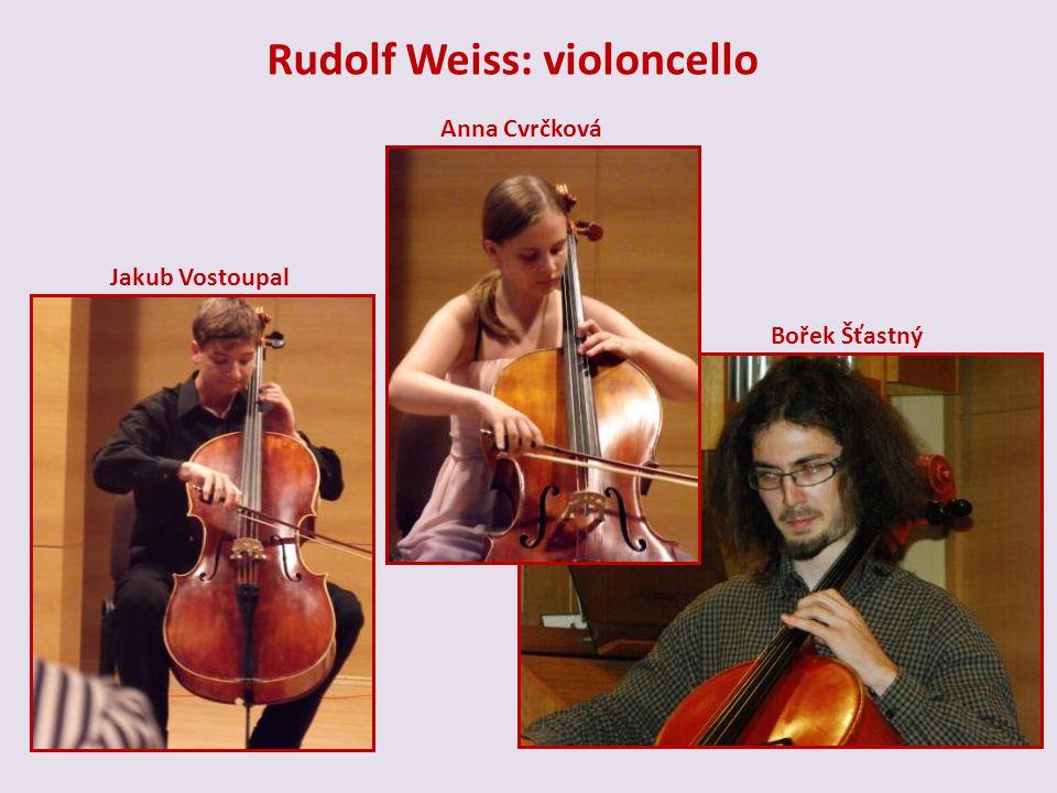 Rudolf Weiss: violoncello