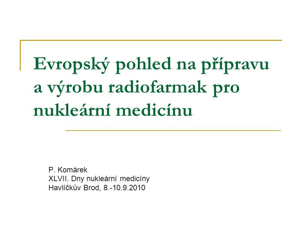 P. Komárek XLVII. Dny nukleární medicíny Havlíčkův Brod, 8.-10.9.2010