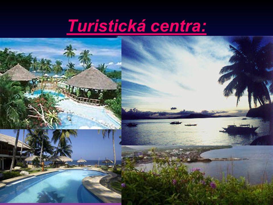 Turistická centra: Ostrovy jižně od hlavního města: