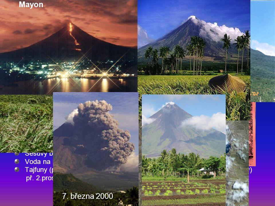 Problémy: Bulusan Mayon 7. března 2000