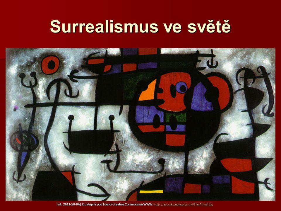 Surrealismus ve světě Joan Miró (1893−1983)