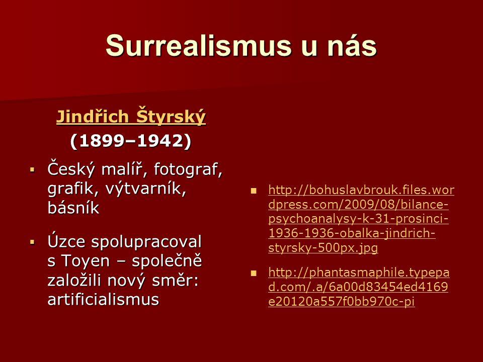 Surrealismus u nás Jindřich Štyrský (1899–1942)