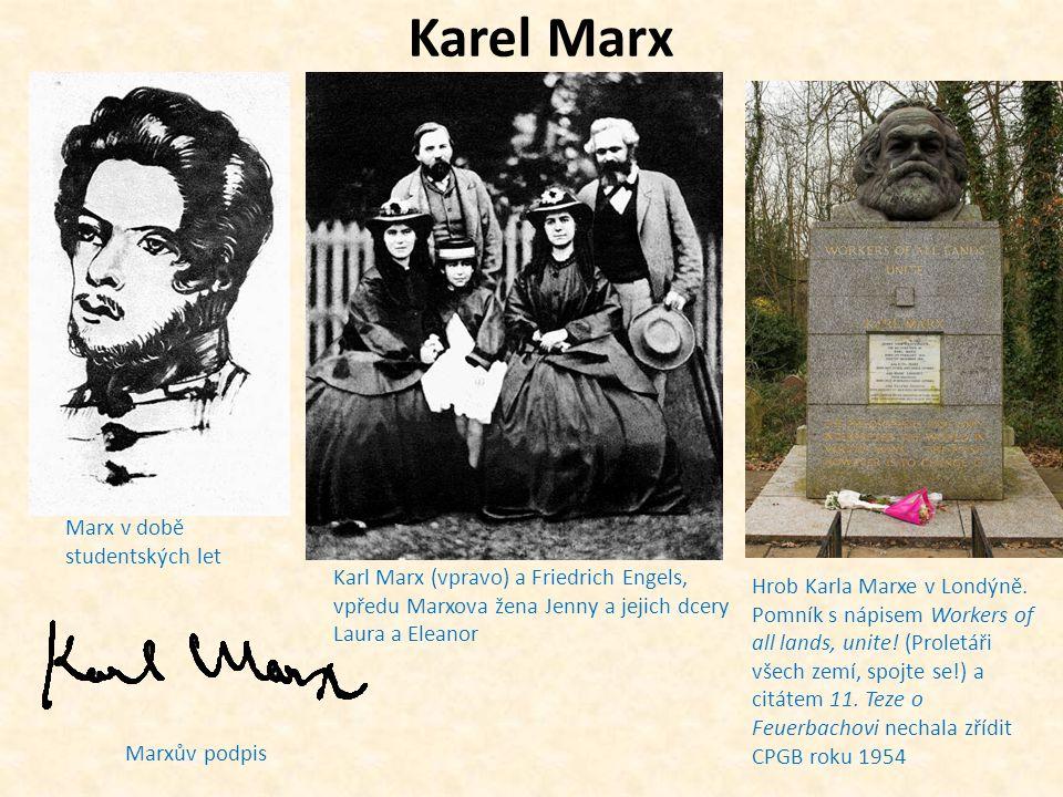 Karel Marx Marx v době studentských let