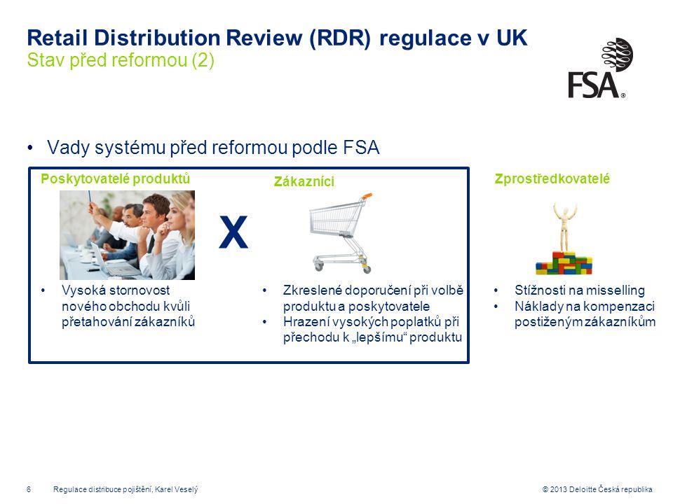Retail Distribution Review (RDR) regulace v UK Stav před reformou (2)