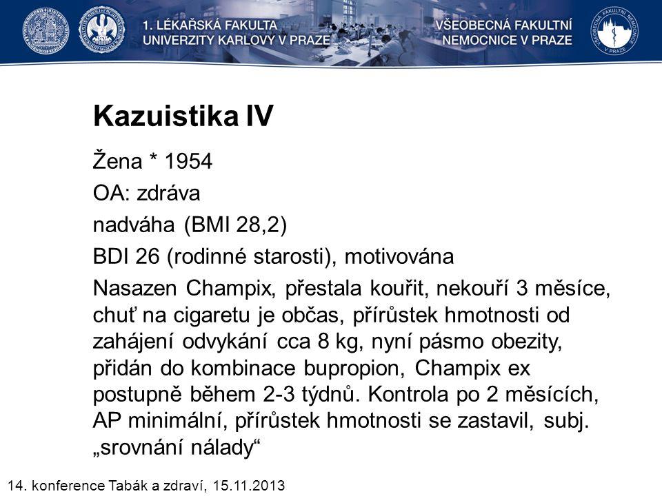 Kazuistika IV
